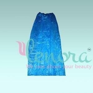 Disposable-Midi-gown-blue