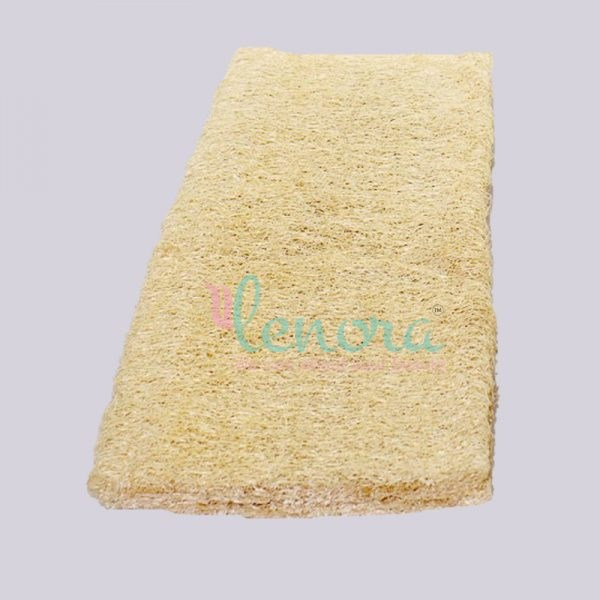 Compressed natural scrubber for body